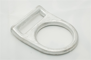 Picture of Forged Alloy Steel 'D' Ring Connector, Bent