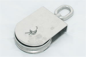 Picture of Swivel Block With Stailess Steel Sheave & Brass Bushing 316 SS