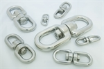 Picture for category 316 Stainless Steel Eye And Eye Swivel
